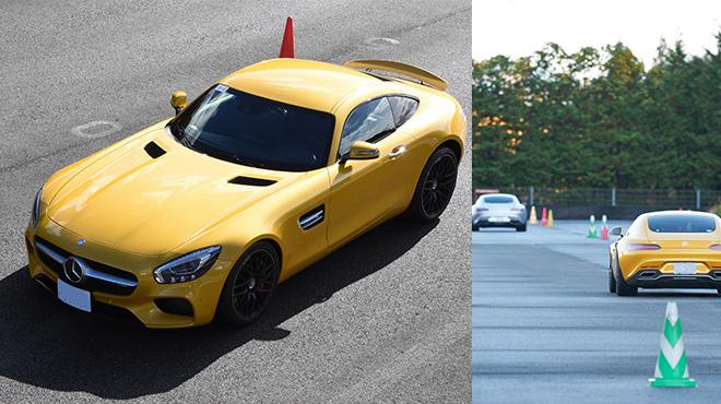 ご自身の愛車GTのブレーキング性能を体感しながらのトレーニング
