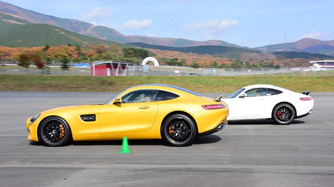 直線ブレーキのトレーニング