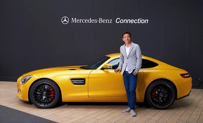 レーシングドライバー平中克幸選手がMercedes-AMG GTの魅力を紹介