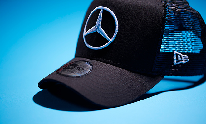 Mercedes-Benz × NEW ERA 9FORTY D-Frame ブラック メッシュ