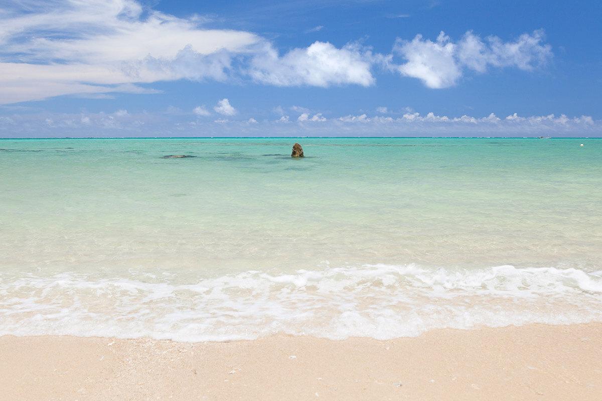 沖縄 百名ビーチ