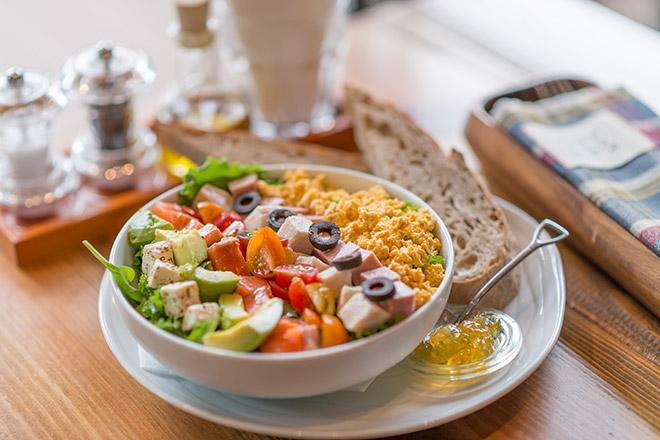 FARMER'S COBB サラダ オーガニックアガベドレッシング