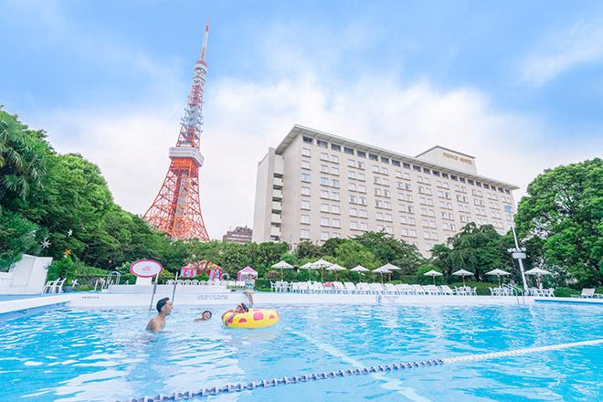 東京タワーの下で味わうリゾート気分