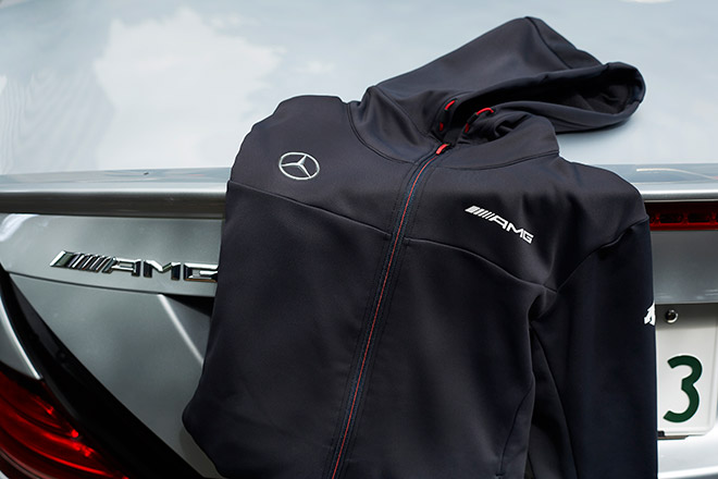 AMG デサント HEATNAVI ACTIVE SUITS JACKET