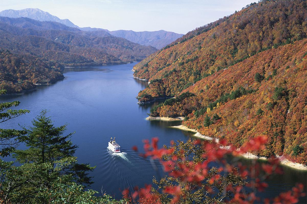 新潟 奥只見湖