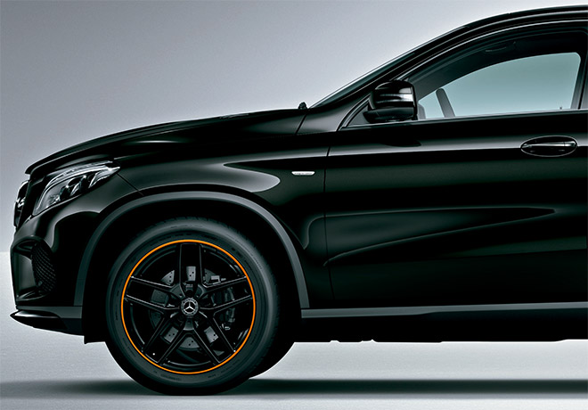 GLE 350 d 4MATIC Coupé Sports OrangeArt Edition