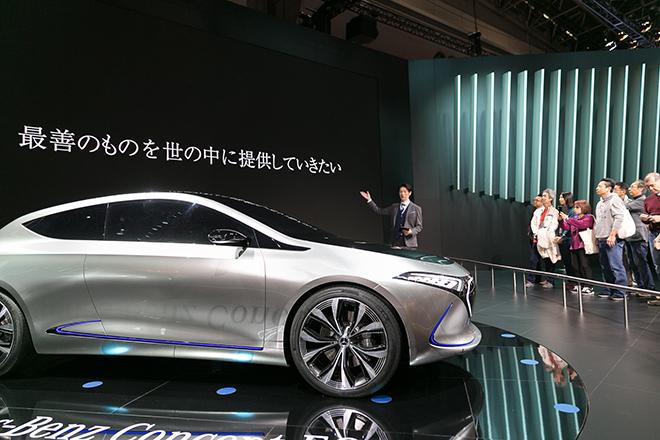 「第45回東京モーターショー2017」メルセデス・ベンツ/スマート スタンドツアー