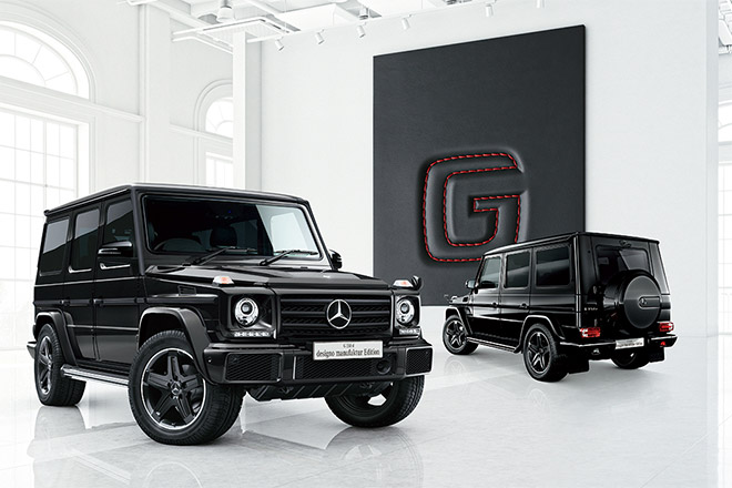 G 350 d designo manufaktur Edition
