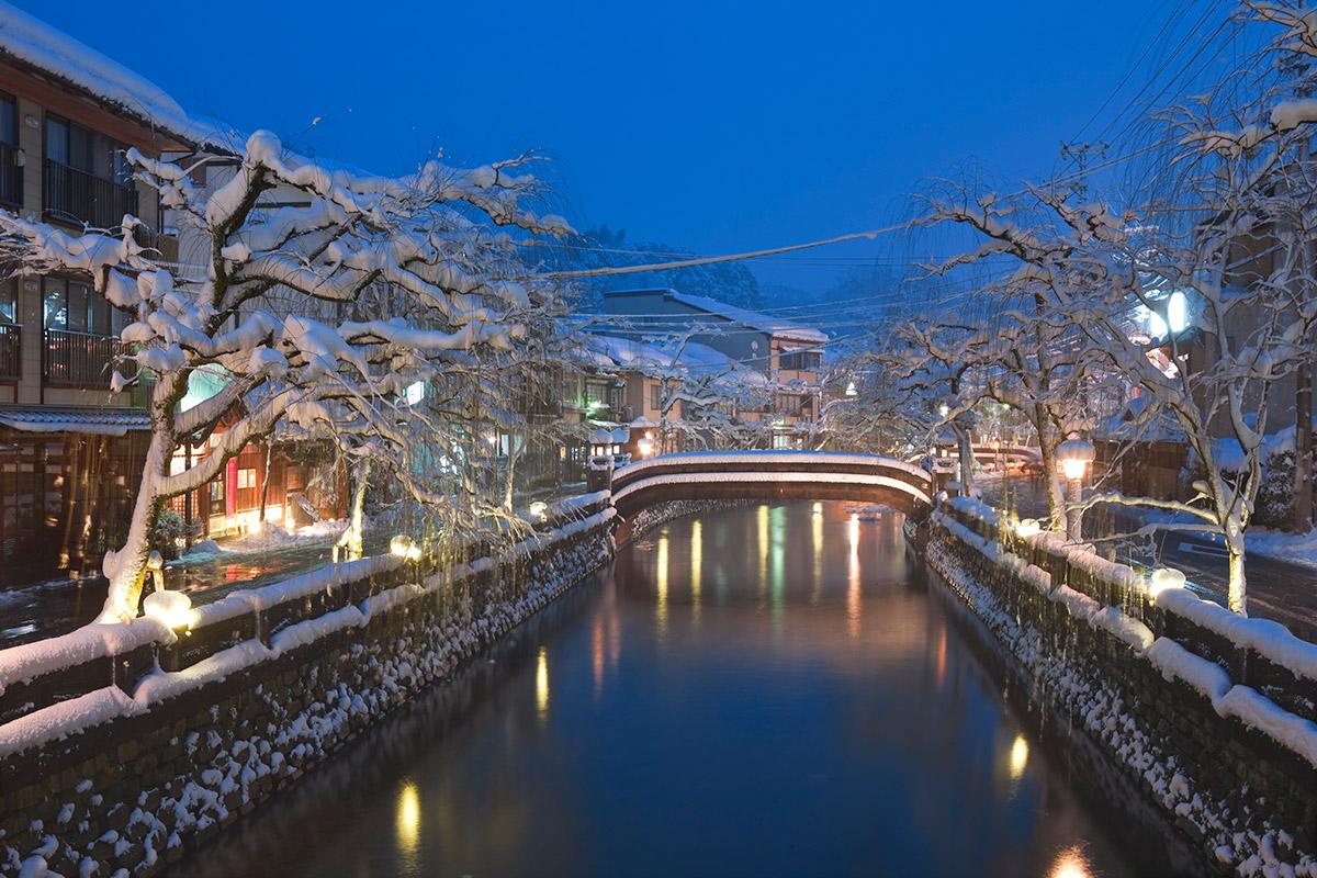 兵庫県・城崎温泉