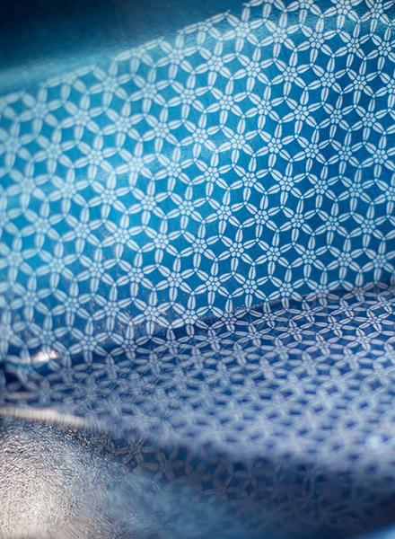 長板中形・藍形染作家 松原伸生