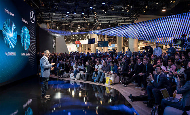 メルセデス・ベンツがCES 2018で提示した、モビリティーの未来