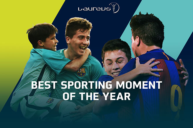 BEST SPORTING MOMENT OF THE YEAR