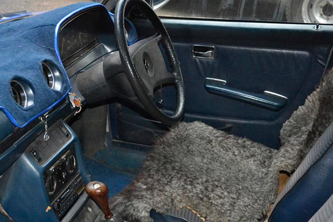 W123のインテリア