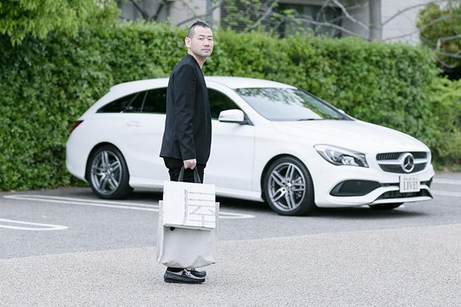 星のや東京の浜田統之料理長と愛車CLA 180