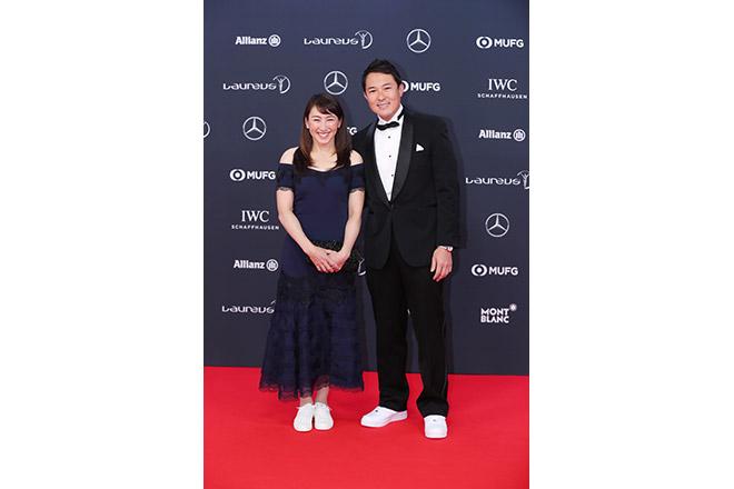 オリンピック体操種目金メダリストの内村航平氏、また、元女子プロテニスダブルス世界ランク1位の杉山愛氏