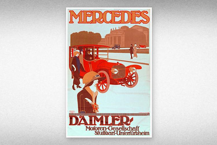 1912年のポスター