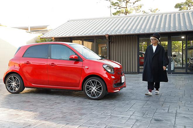 smart center 京都, the gardenを訪れた千原徹也氏