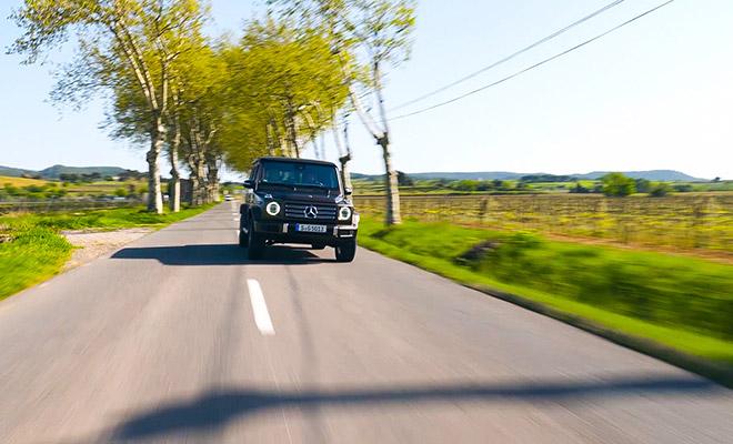 フランスの田舎道