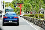 若宮大路を抜け、鶴岡八幡宮を通る。