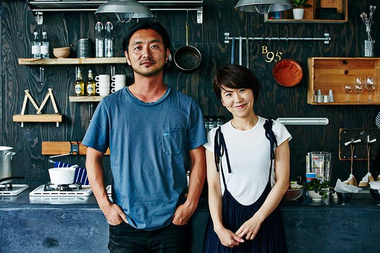 この連載は、ビームス土井地さんと料理研究家ワタナベマキさんで行う