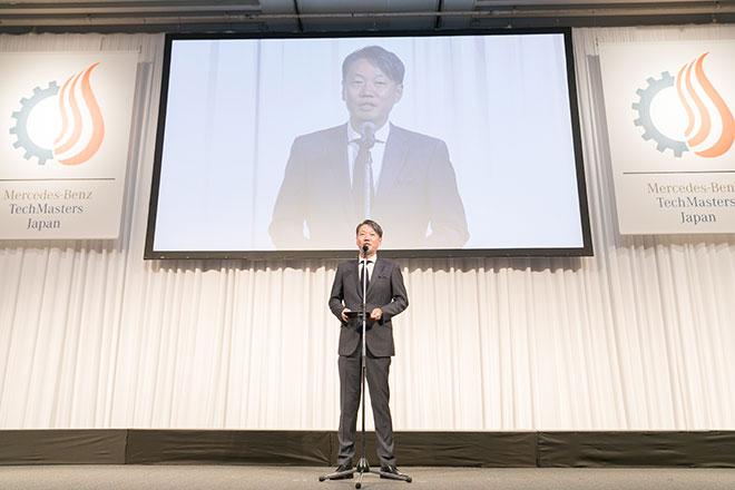 上野社長による開会の挨拶