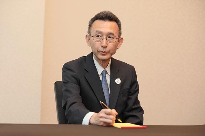 カスタマーサービス部門を統括するメルセデス・ベンツ日本の荒垣代表取締役副社長