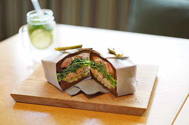 『King George』のサンドイッチ