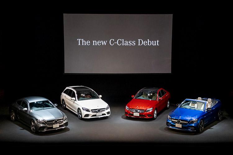 4車種の新型Cクラス
