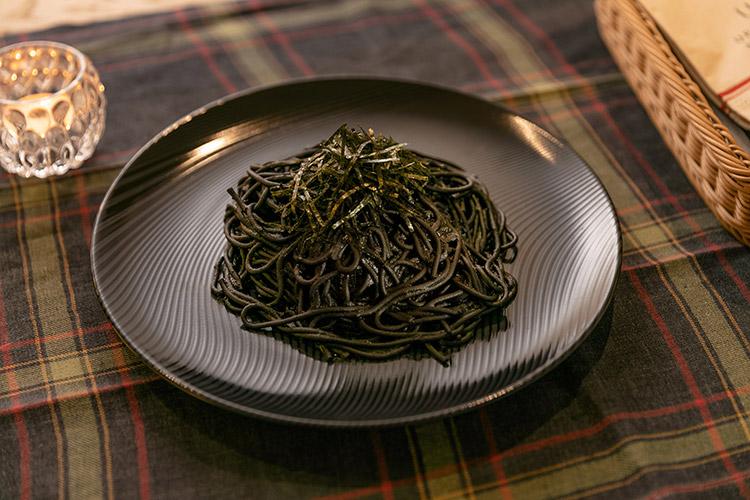 イタリア産イカスミのペスカトーラ~ブラック・サバス風~