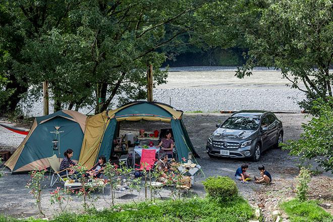 鉄橋の杜キャンプ場