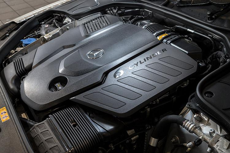 メルセデス・ベンツ S 400 dのエンジン