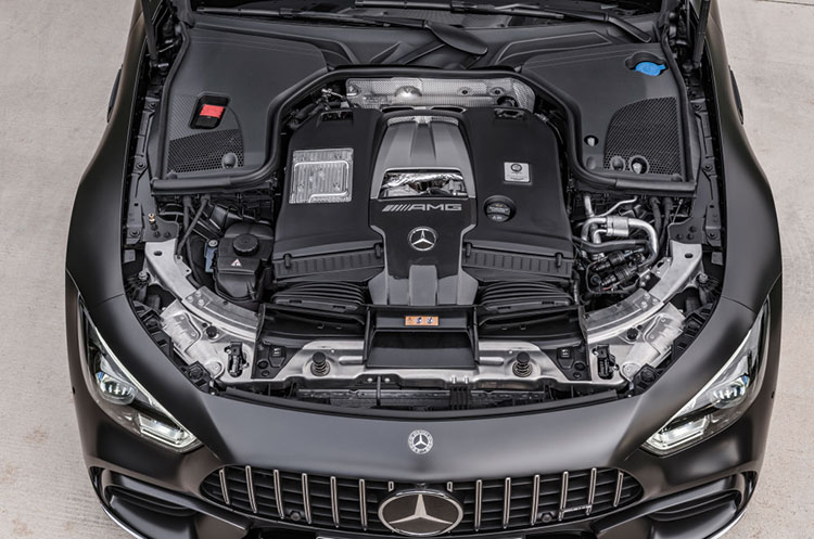 4.0ℓV8ツインターボエンジン