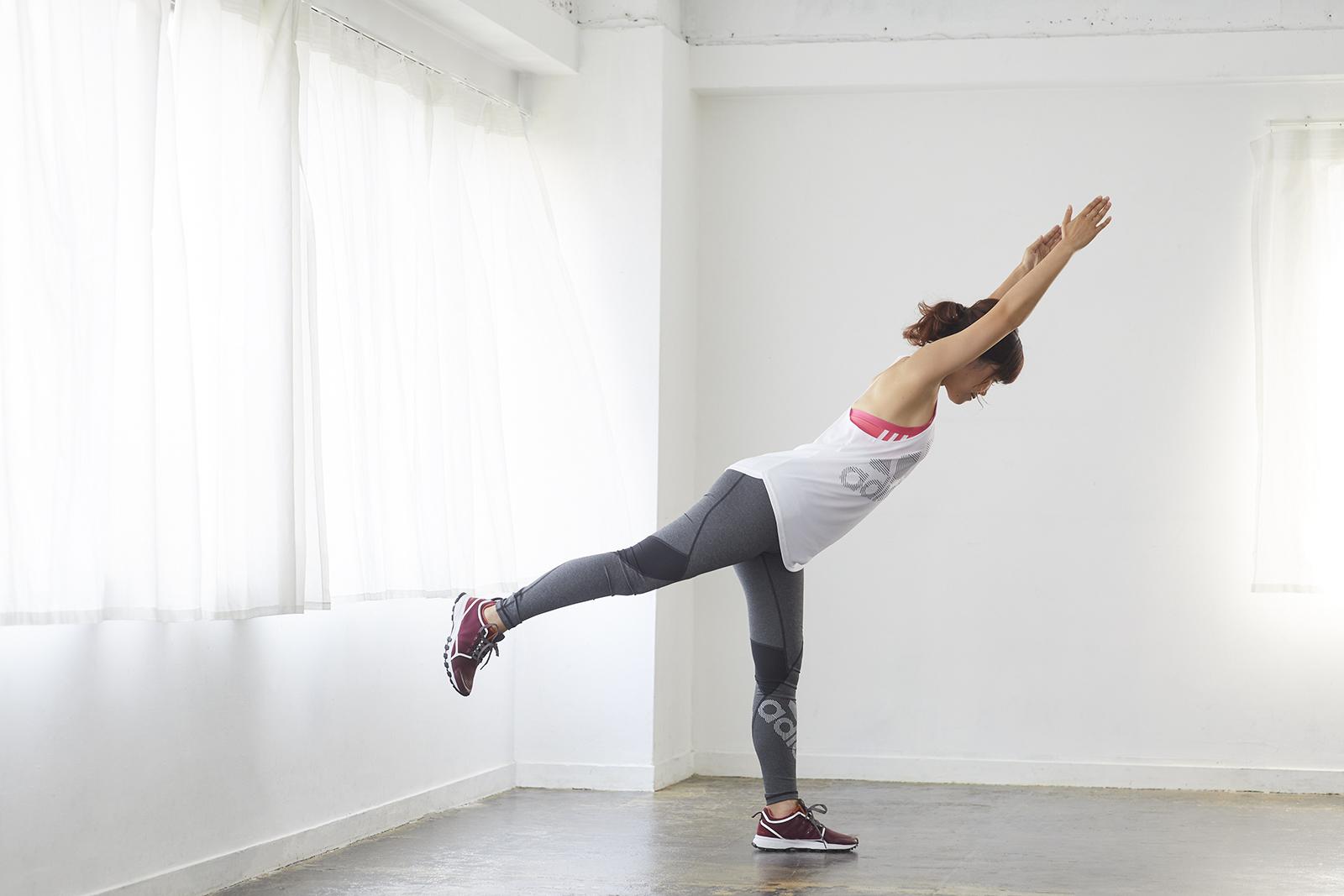 下半身の安定性を高め、全身のバランスを整える