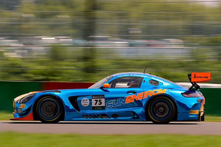 鈴鹿10時間耐久レースで、Mercedes-AMG Team GruppeM Racingが表彰台に!