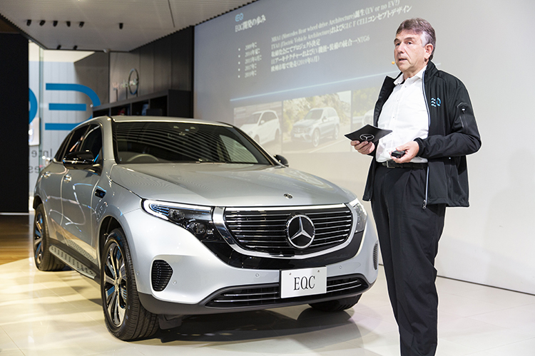 EQCの開発責任者が語る、CASE時代を象徴する新しい電気自動車の開発とは