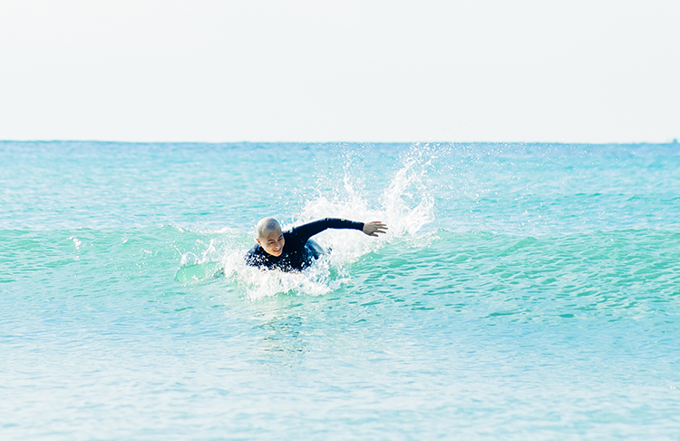 身も心も整える場所――房総の海