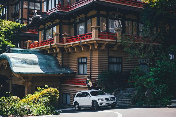写真家・保井崇志、GLBと箱根ロングドライブで見出す日本の美