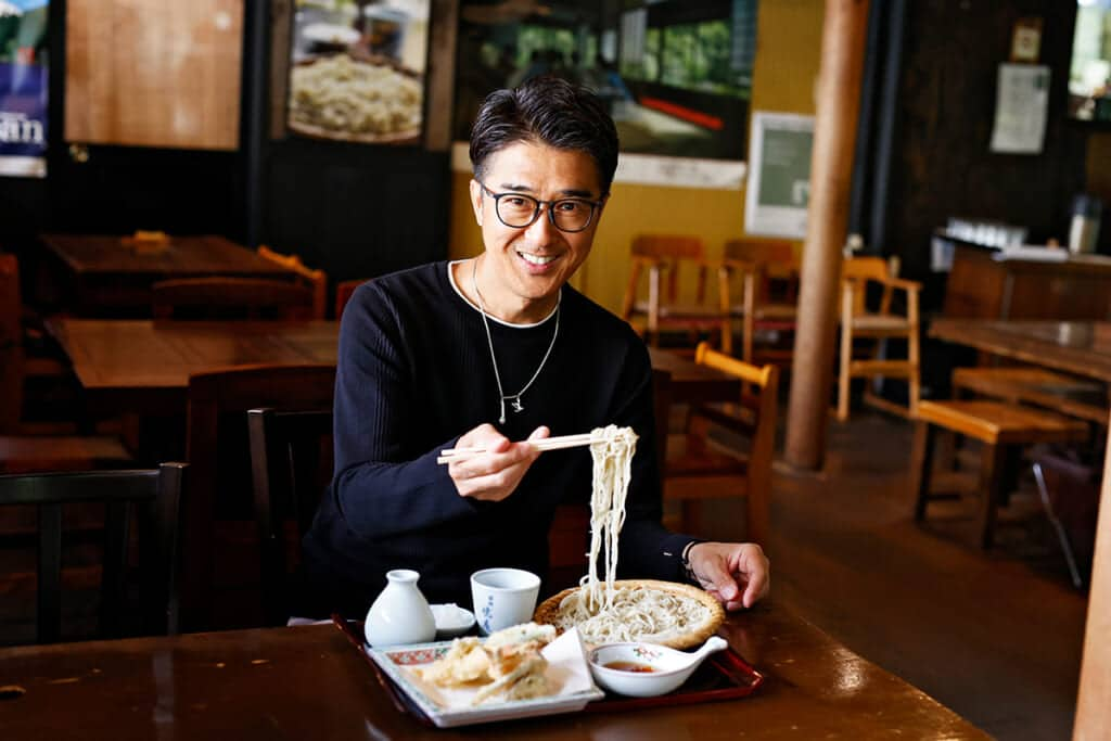 「DEEN」池森秀一がナビゲート、箱根ドライブで訪れたい蕎麦処