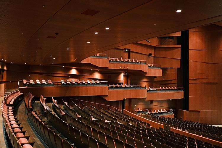 群馬音楽センター ホール